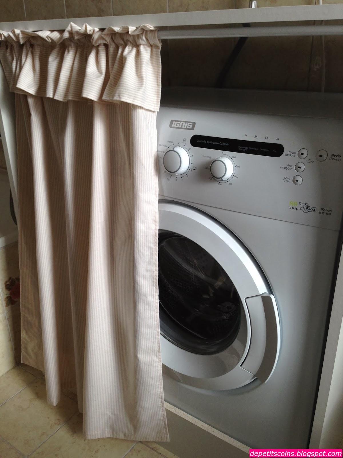 De petits coins mobile copri lavatrice - Lavatrice cucina ...