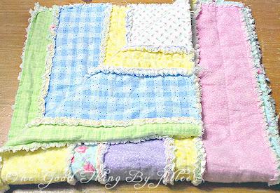 Diy Flannel Baby Rag Quilt