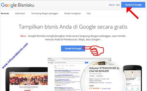Cara Membuat Laman Google Bisnisku
