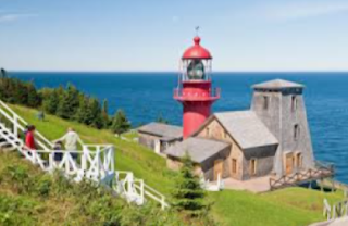 my great travel to the Quebec's Gaspé Peninsula