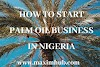 HOW TO START PALM OIL BUSINESS IN NIGERIA.