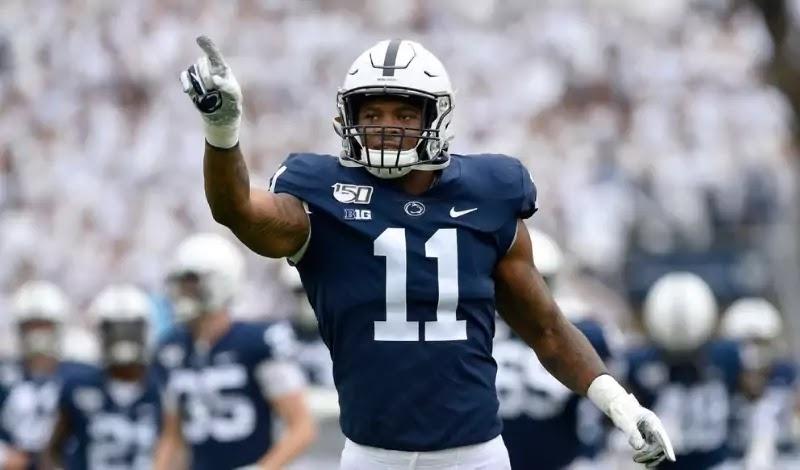 Micah Parsons 2021 NFL Prospects