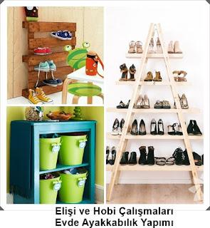 Dekorasyon - Ayakkabılık Modelleri