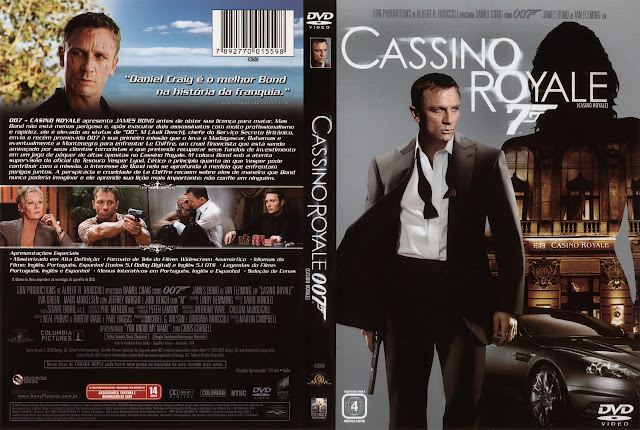 Capa DVD Cassino Royale