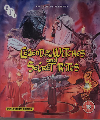 Legend of the Witches bluray cover