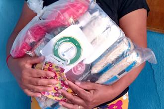 4ª etapa do Kit Compaixão distribuiu 6 toneladas de alimentos em Itapiúna e região