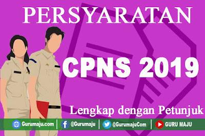 Persyaratan CPNS 2019
