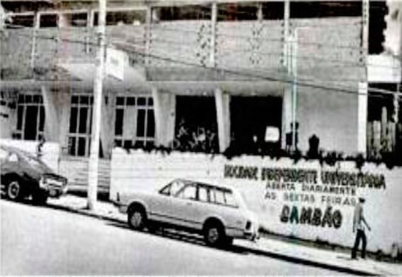 Sede do Mixto na Avenida Getúlio vargas em Cuiabá