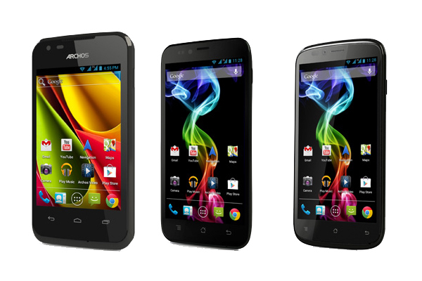 French brand of Android tablets announced its first three vectors smartphones Archos in common: the ability to include dual-SIM cards. They will be available from the end of May