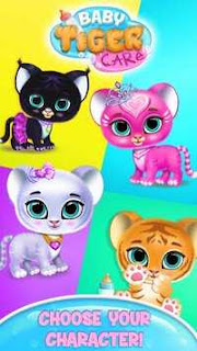 Baby Tiger Care - My Cute Virtual Pet Friend APK