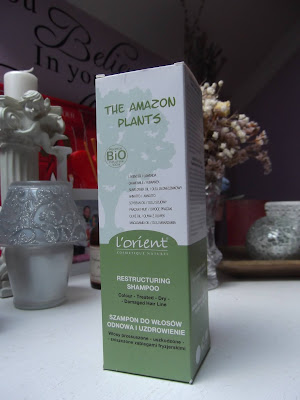 L´Orient Cosmetique Naturel Amazon Plants regeneračný šampón