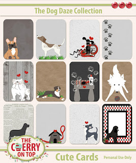 Dog Daze Cute Cards