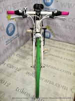 Sepeda Hibrid Doppelganger 401 Amadeus Aloi 21 Speed 700C Bagasi Belakang untuk Touring