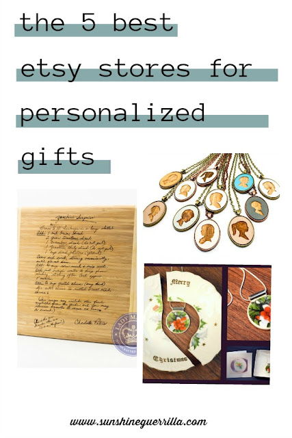 The Five Best Etsy Stores for Personalized Gifts