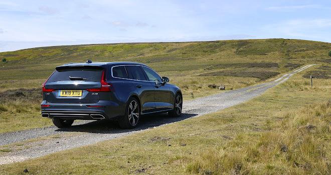 Volvo V60 rear view