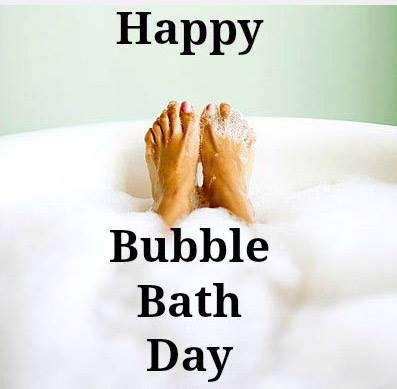 National Bubble Bath Day Wishes Images download