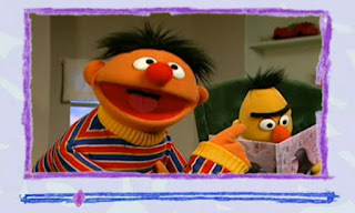 Ernie sends an e-mail which is about Bert's eyebrow. Elmo's World Eyes Video E-Mail