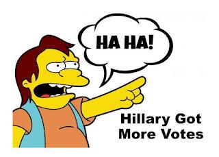 MEME - HA HA Hillary Got More Votes - Simpsons - gvan42
