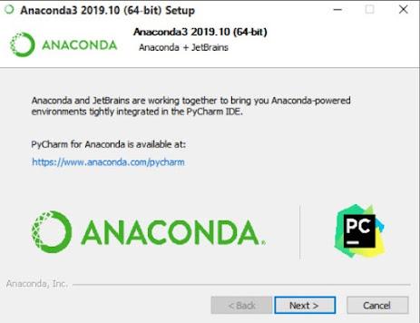 PyCharm IDE related information for Anaconda.