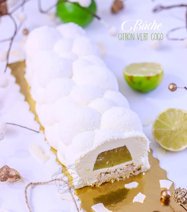 buche de noel citron coco