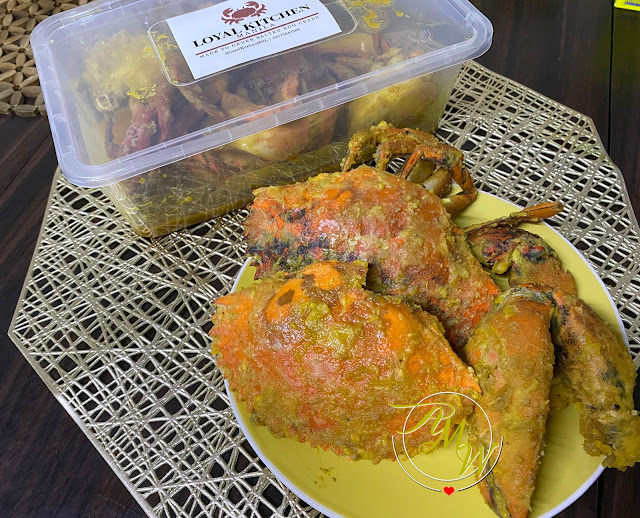 a photo of Loyal Kitchen Manila Salted Egg Crabs Review