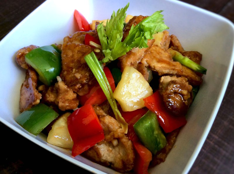 Sweet-&-sour pork