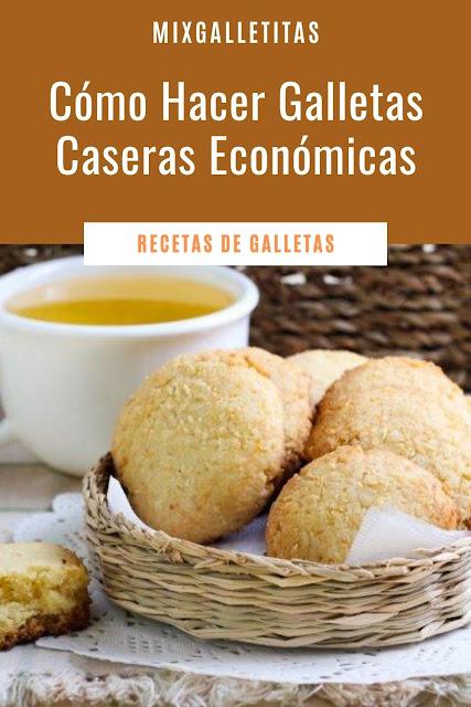 GALLETAS CASERAS ECONÓMICAS