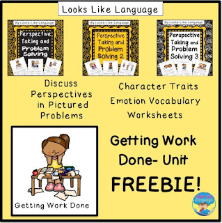 Talk about turning homework in with this fun, free activity from Looks-Like-Language!