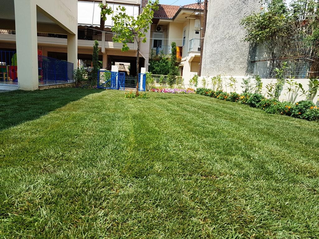 Νέος χώρος πρασίνου στον 10ο Παιδικό Σταθμό του Δήμου Λαρισαίων (ΦΩΤΟ)