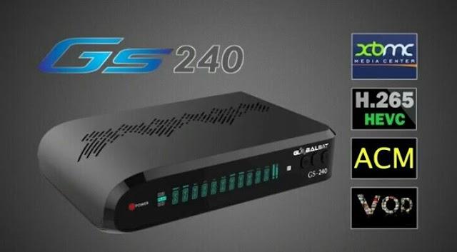 Globalsat GS240 Atualização V2.77 - 24/03/2021