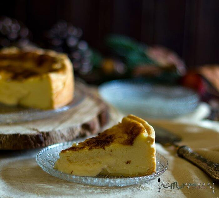 como preparar tarta de queso corsa