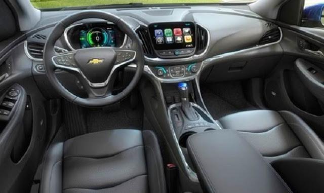 2018 Chevy Volt Changes
