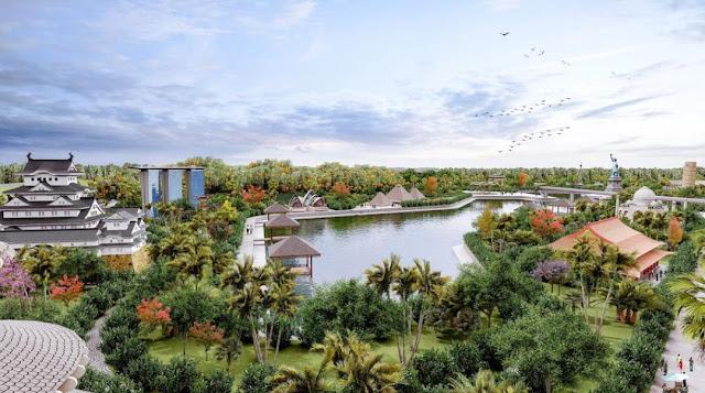 dự án Sunshine Heritage Resort Phúc Thọ Hà Nội