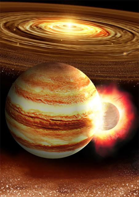 colisão com Júpiter