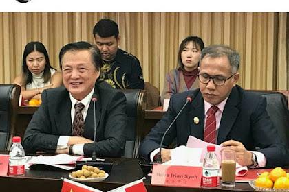 Aceh Pakat Cina, Bangun Pabrek Seumen Laweung