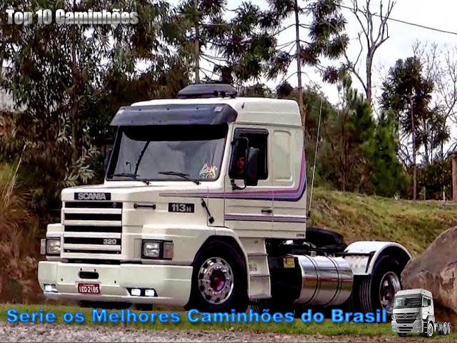 Top 10 Os melhores Caminhões do Brasil VÍDEO