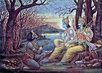 Krishna Orders Mayasura to Construct Palace to the Pandavas