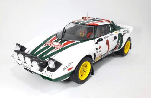 WRC collection 1:24 salvat españa, Lancia Stratos 1:24