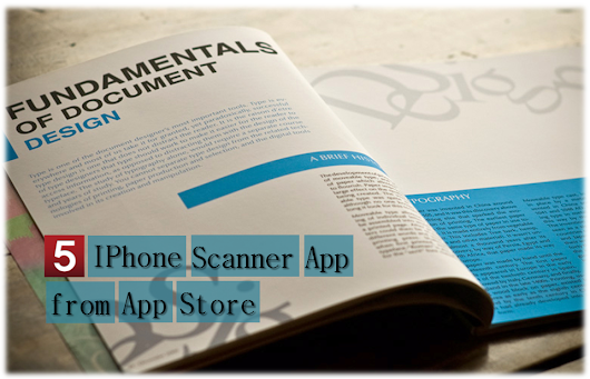 5 IPhone Scanner App from App Store | Alexas Apps