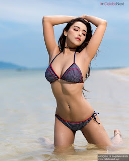 Angela Krislinzki Spicy Indian Actgress Singer Stunning Bikini Pics .xyz Exclusive 002