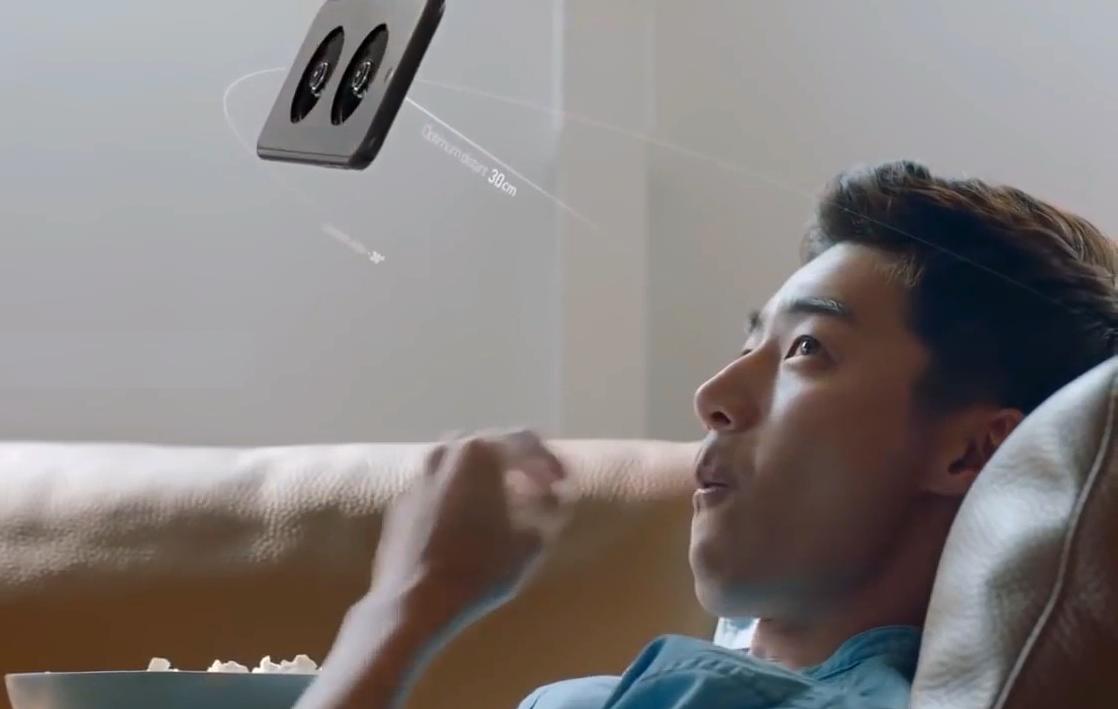 এলজিইউ প্লাস ড্রোন স্মার্টফোন (LGU+ Drone Smart Phone)