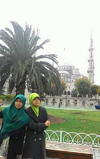 Septi ketika di Istanbul Turki