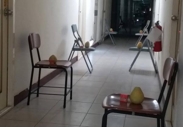 明道大學剝柚子趣味競賽 外籍生齊聚歡慶中秋