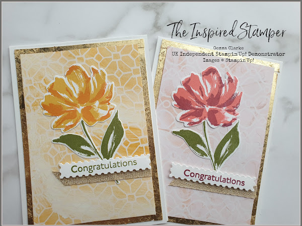 Stampin'Up! Fine Art Floral Card