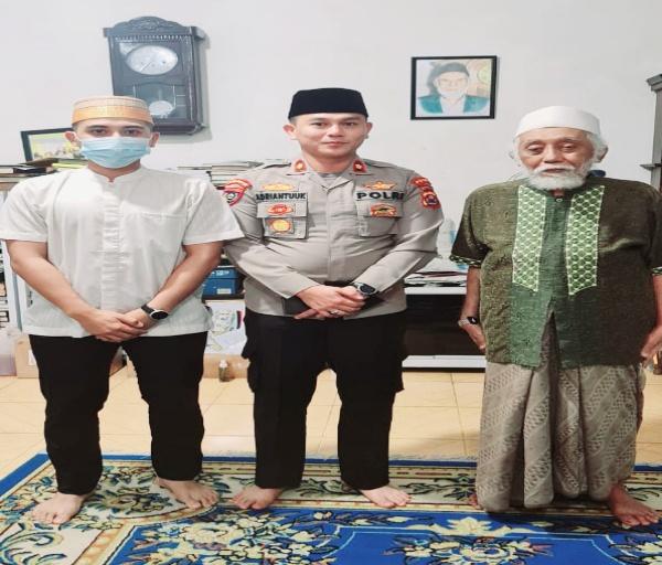 Laksanakan Program Kapolda, Ditbinmas Polda Banten Sambangi Kh. Abuya Muhtadi