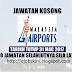 Jawatan Kosong Malaysia Airports (MAHB) - 31 Mac 2017