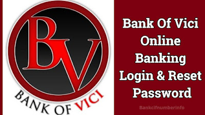 Bank of Vici Online Banking