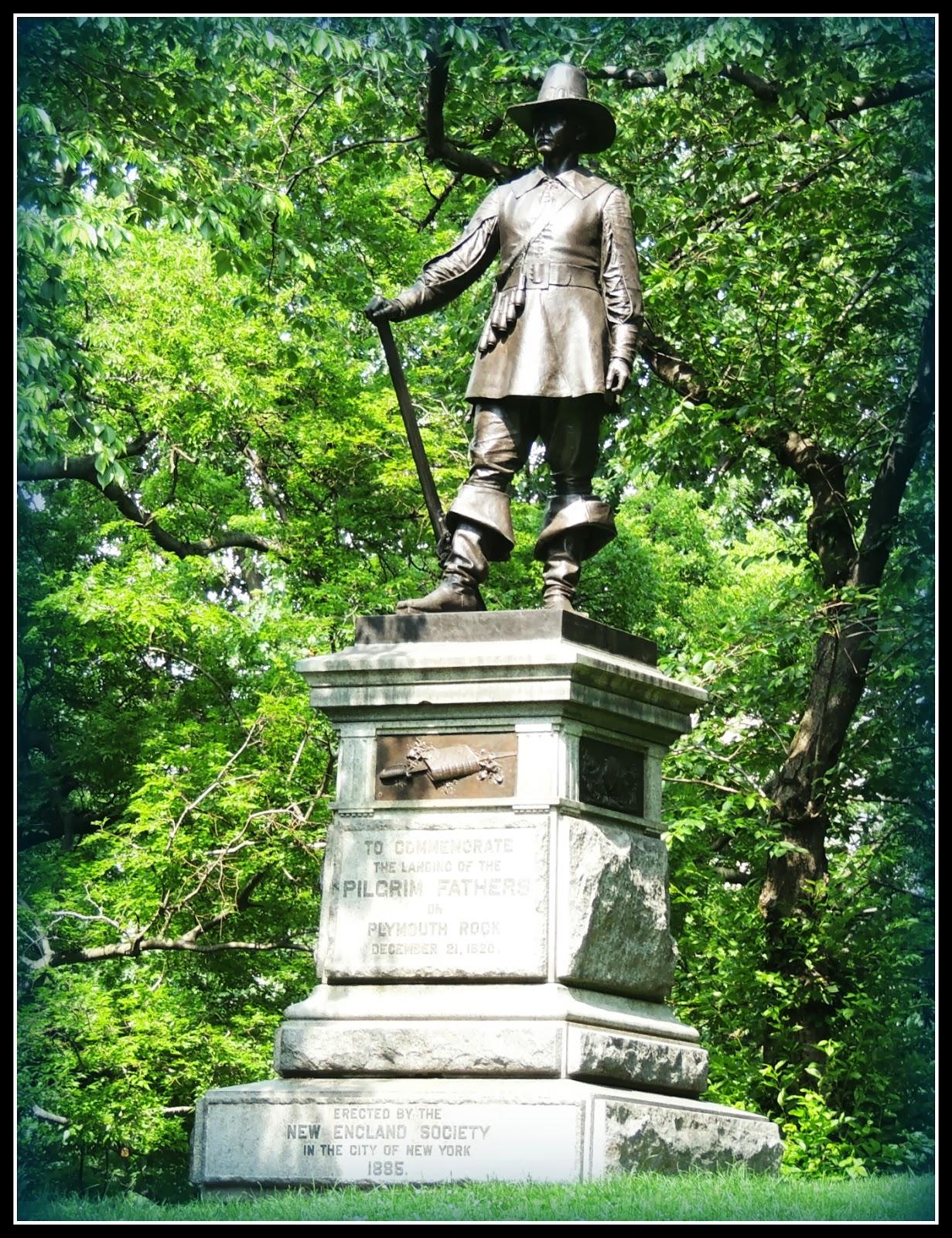 NY en 3 Días: Escultura del Peregrino en Central Park