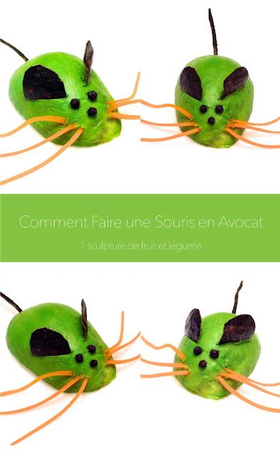 1 sculpture de fruit et l gume comment faire une souris avec un avocat. Black Bedroom Furniture Sets. Home Design Ideas