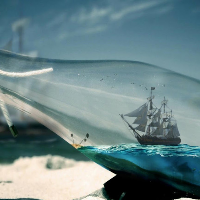 Ship in a Bottle Wallpaper Engine
